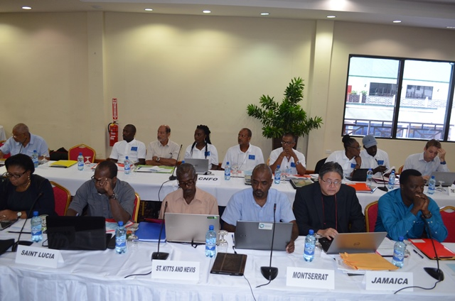 A section of the international participants at the Fourteenth Meeting of the Caribbean Fisheries Forum