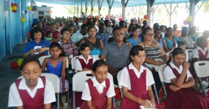 A section of the gathering at the Fisherfolk Day celebration