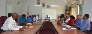 Minister Holder meets with heads of department to discuss Agriculture Month activities