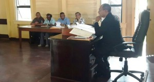 Attorneys-at Law Mr. Omadatt Chandan during the proceedings