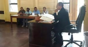 Attorneys-at Law Mr. Omadatt Chandan during the proceedings
