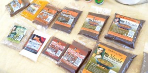 Locally produced spices