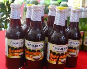 Seasoning sauce produced in Pomeroon, Guyana