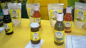 GSA products on display at the Berbice Expo