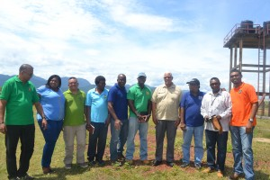 agri-minister-noel-holder-flanked-by-fao-country-representative-reuben-robertson-and-heads-of-departments-during-outreach-to-region-9