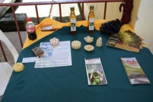 a-display-of-items-produced-from-bees-wax-gathered-from-the-mangrove-restoration-project-spearheaded-by-narei