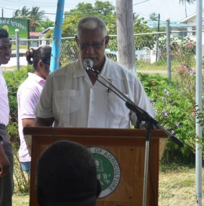 agriculture-minister-noel-holder-while-delivering-the-feature-address-at-the-commissioning-of-the-climatological-station-at-gsa