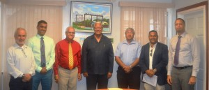l-r-mr-ivan-cabrera-mr-avinash-rampersad-mr-nirmal-rampersad-minister-noel-holder-ceo-of-guysuco-mr-errol-hanoman-mr-noel-shewjattan-and-ceo-of-go-invest-mr-owen-verwey