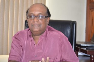 Dr. Oudho Homenauth – Chief Executive Officer, CEO, National Agriculture Research and Extension Institute, NAREI