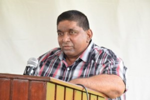 Dwarka Nauth, Heighbourhood Democratic Council (NDC) Chairman, Caledonia-Good Success East Bank Demerara
