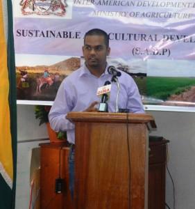 ADSU Project Coordinator, Khemlall Alvin