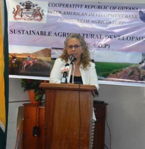 IDB Country Representative, Sophie Makonnen