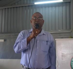 Mr. Kuldip Ragnauth, Extension Manager