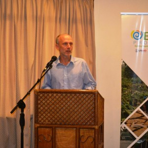 Dr. Peter Dorward, Reading University Representative