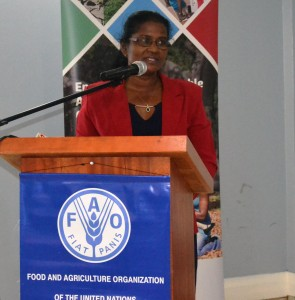 Ms. Dhanrajie Madray, Assistant Representative, FAO Guyana