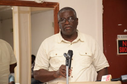 Nigel Cumberbatch, Chief Executive Officer(CEO), Guyana Livestock Development Authority, GLDA