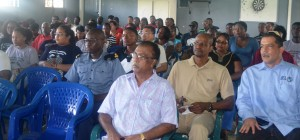 Persons in attendance at the Fisherfolk activities