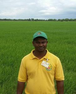 GRDB Extension Officer, Rishal Ramsarran