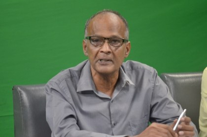 Finance Director and Deputy CEO of GUYSUCO Paul Bhim.