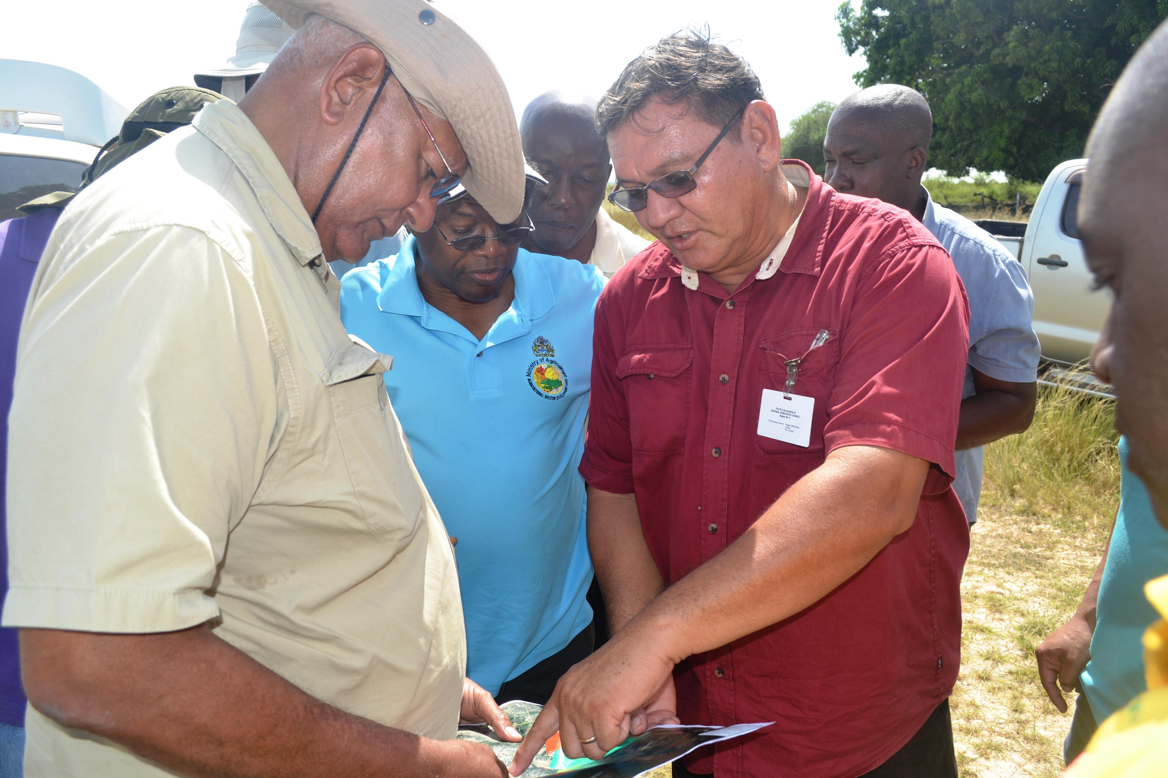 Minister Holder and Region 9 Regional Council Member, Roger King