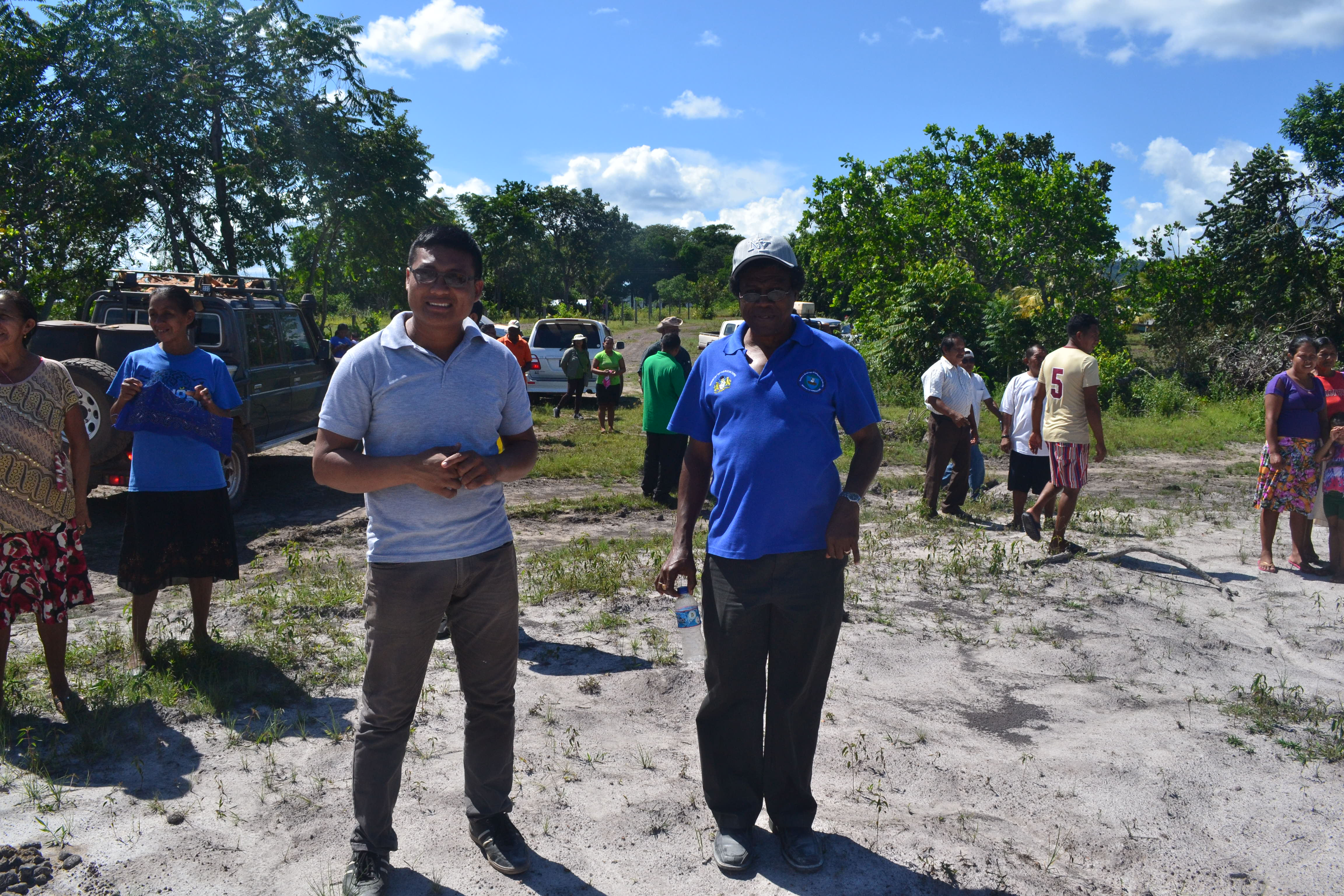 Region 9 NDIA Engineer, Abraham Realine and NDIA CEO Fredrick Flatts