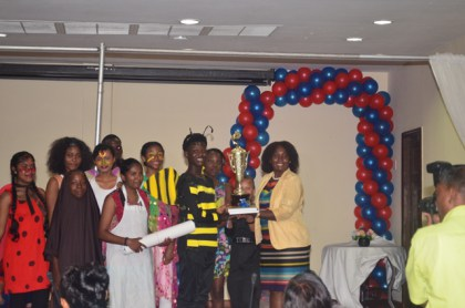 Uitvlugt Secondary School, winners of the 'Pesticides Awareness in Secondary Schools' competition.
