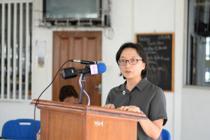Mikiko Tanaka, United Nations Development Programme (UNDP) Resident Representative and Coordinator.