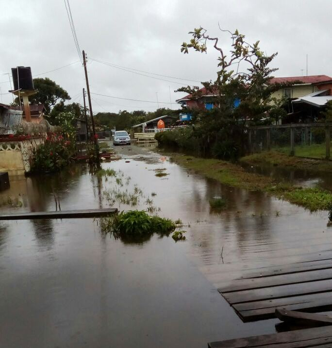 One of the affected areas in Canal No. 2
