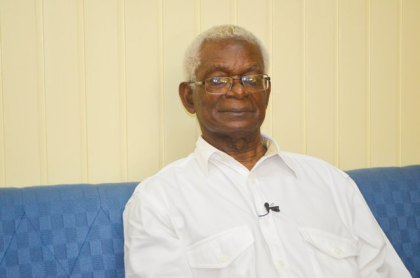 GUYSUCO's Chairman Dr. Clive Thomas.