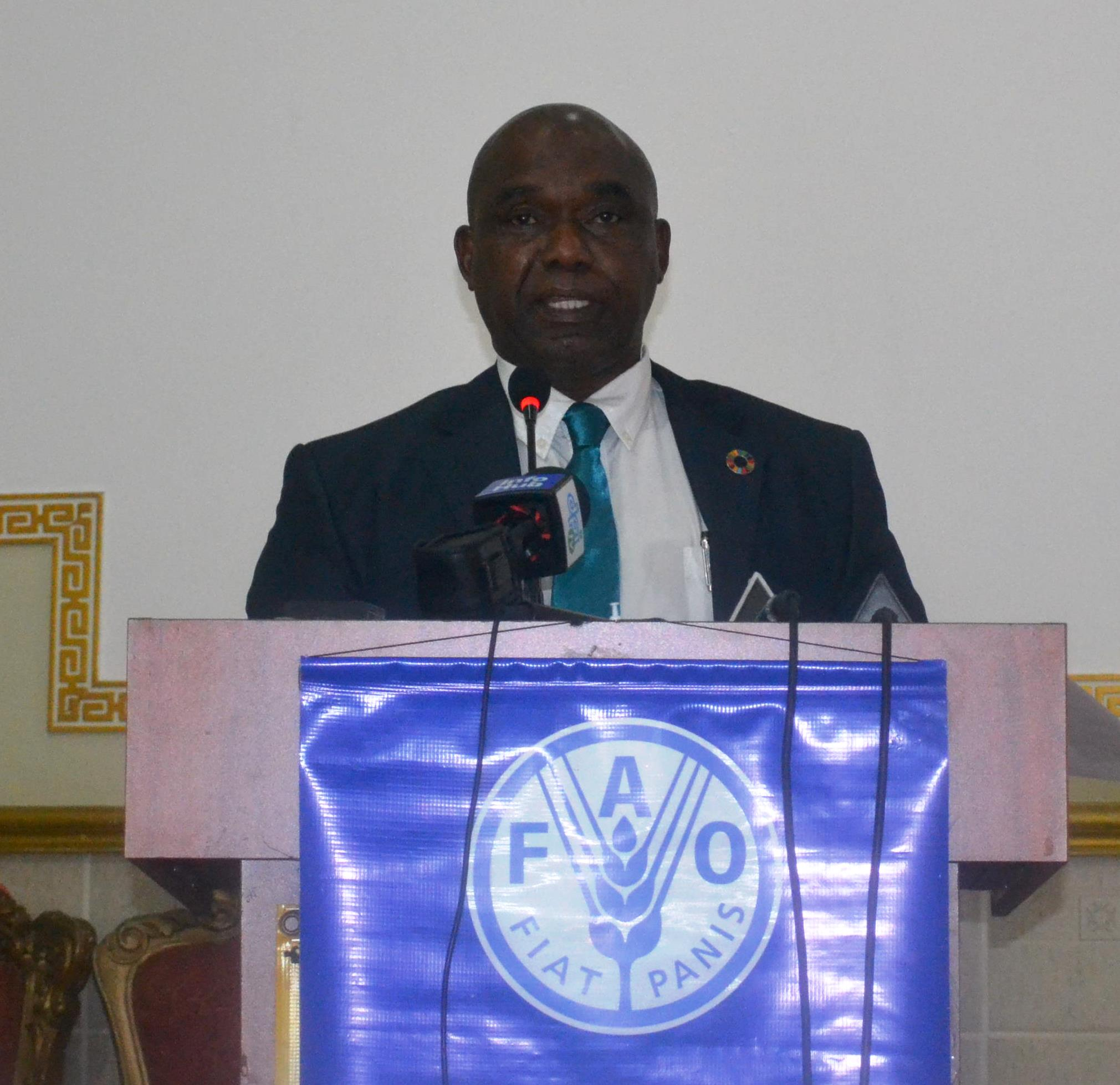 Mr. Reuben Robertson, Guyana's FAO Representative