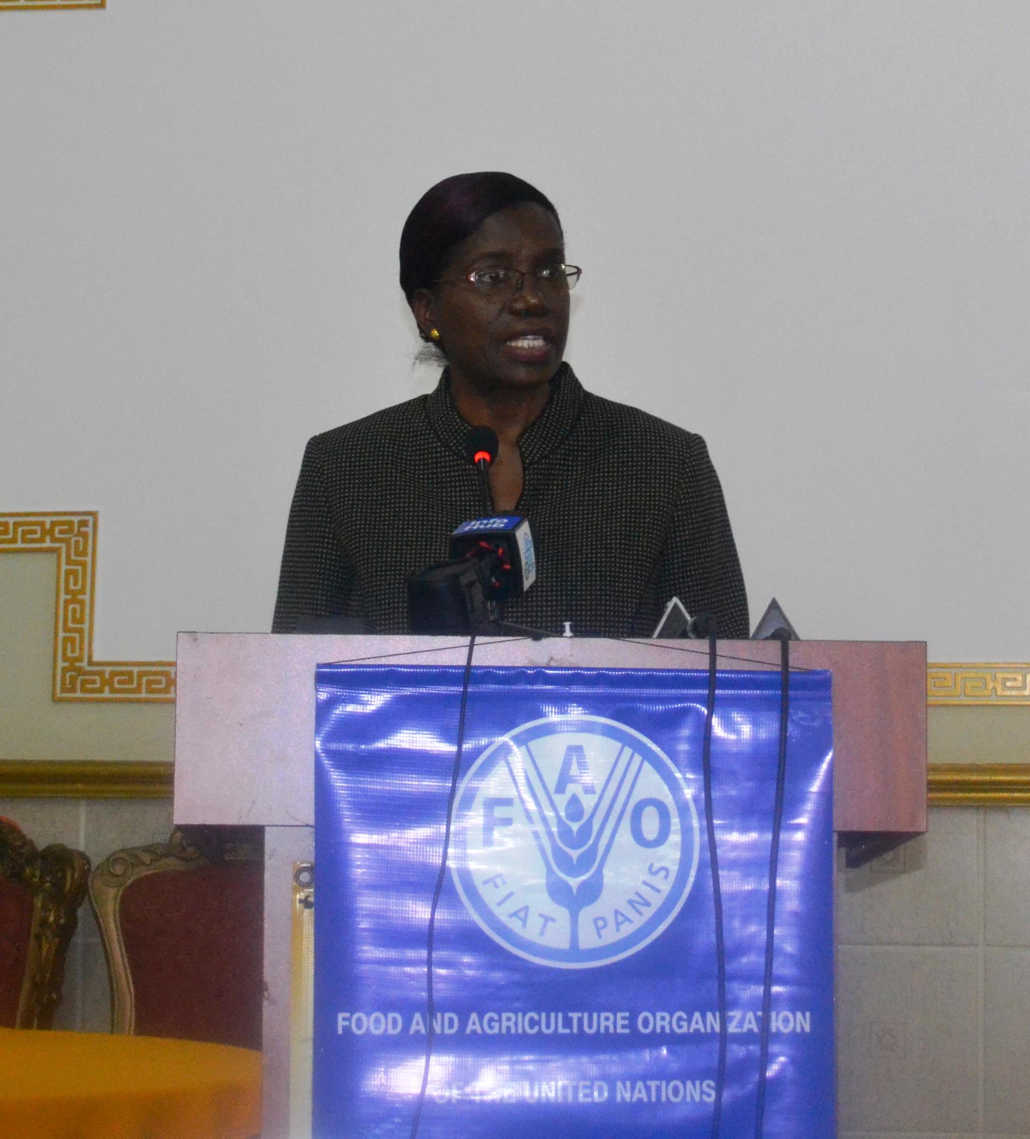 Ms. Delma Nedd, Permanent Secretary, Ministry of Agriculture