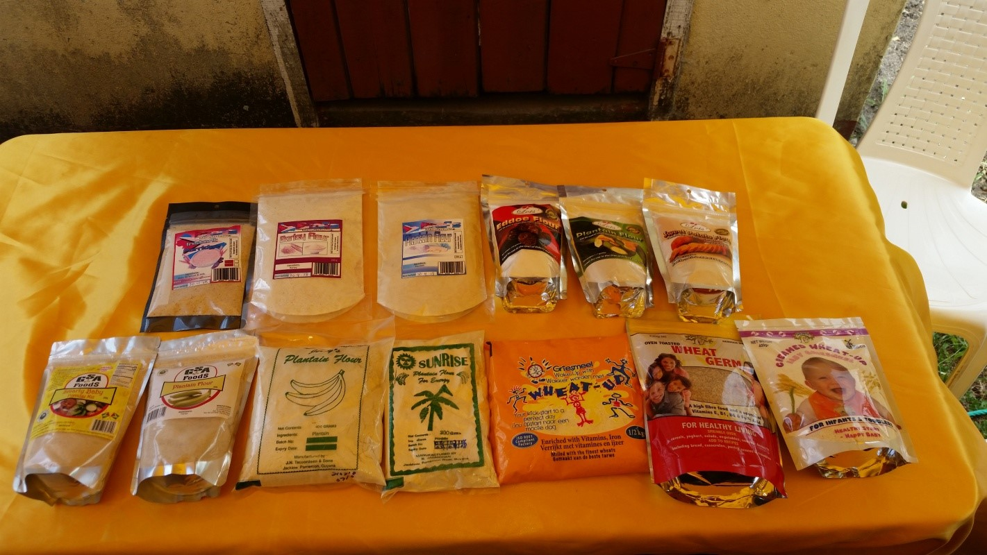Full Complement of Flours and Porridge Mixes being promoted