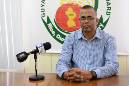 General Manager of the Guyana Rice Development Board, Nizam Hassan.
