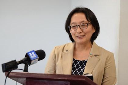 UNDP Resident Representative Mikiko Tanaka.