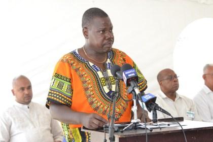 Chairman of the Buxton-Foulis NDC, Forbes Abrams.