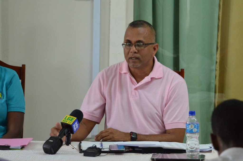 General Manager of the Guyana Rice Development Board (GRDB), Nazim Hassan