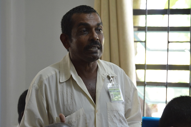 Regional Councillor, Naith Ram, Regional Agriculture Coordinator