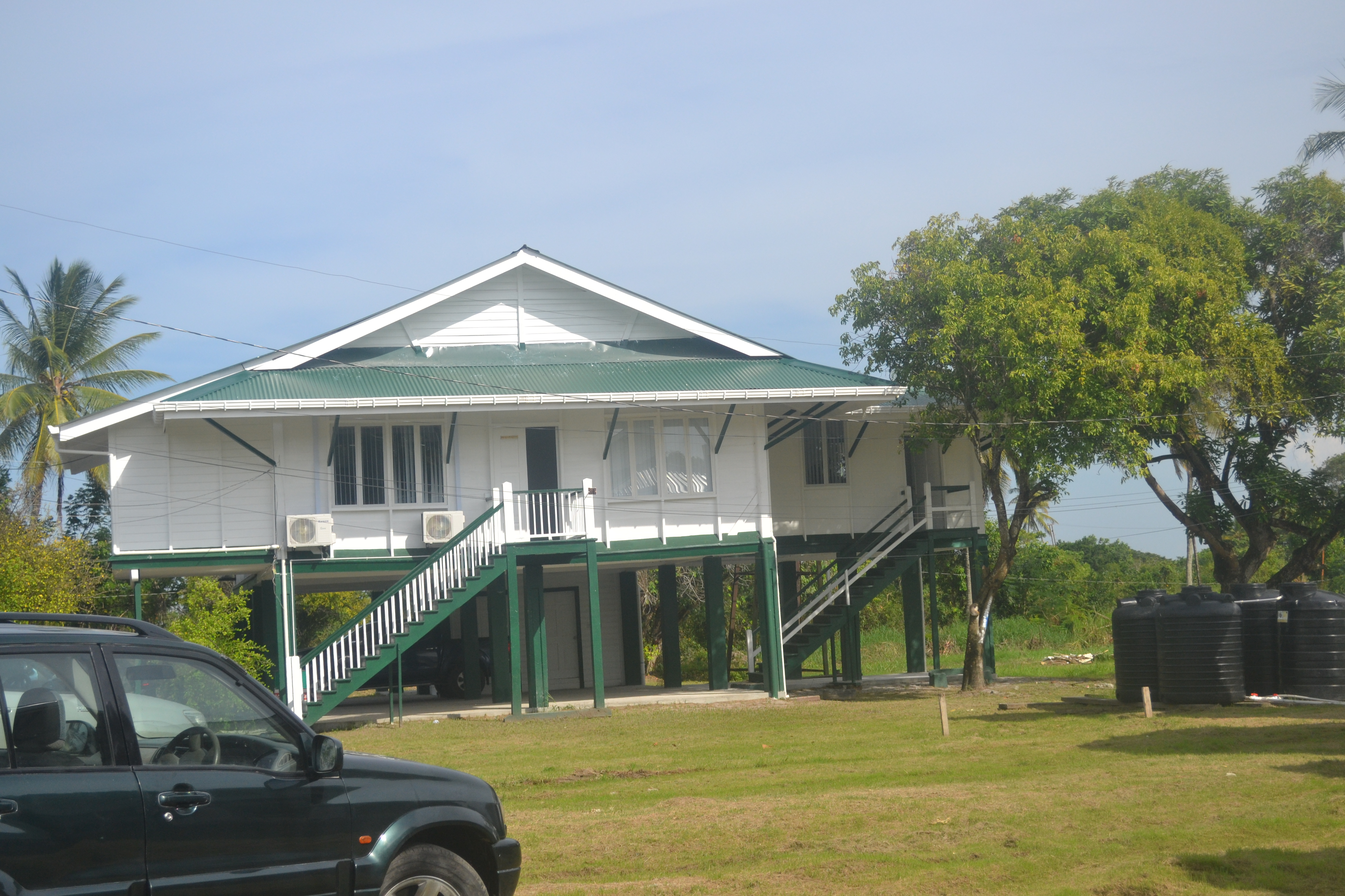 One of the buildings that now houses NDIA
