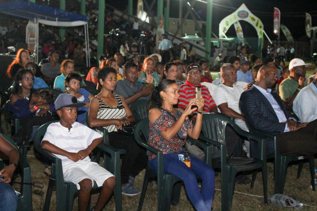 A section of the audience at the expo's opening