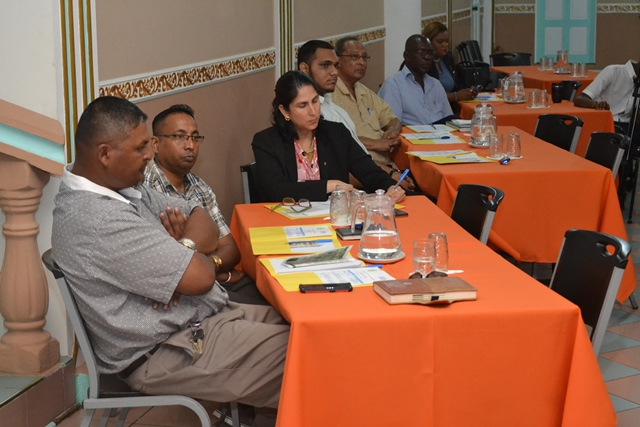 Participants of the carambola fruit fly workshop