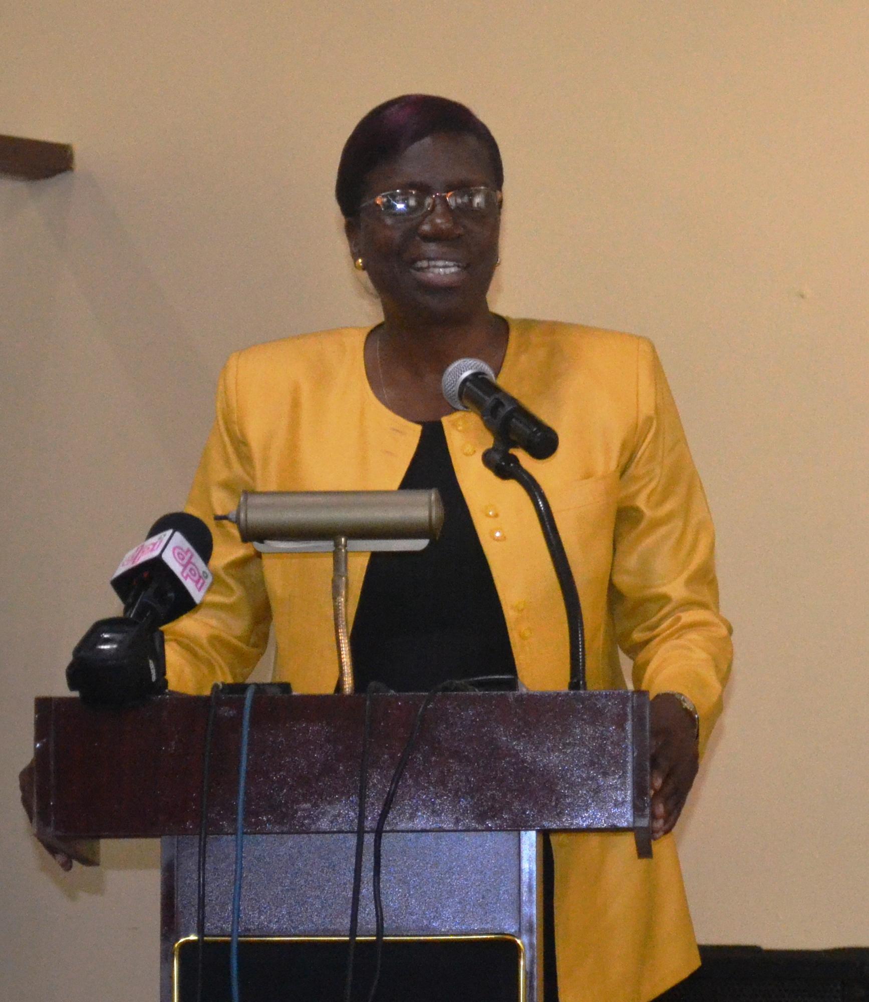 Permanent Secretary, Ministry of Agriculture, Delma Nedd