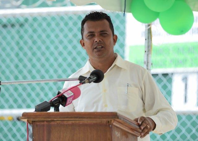 Regional Chairman of Region Two, Devanand Ramdatt