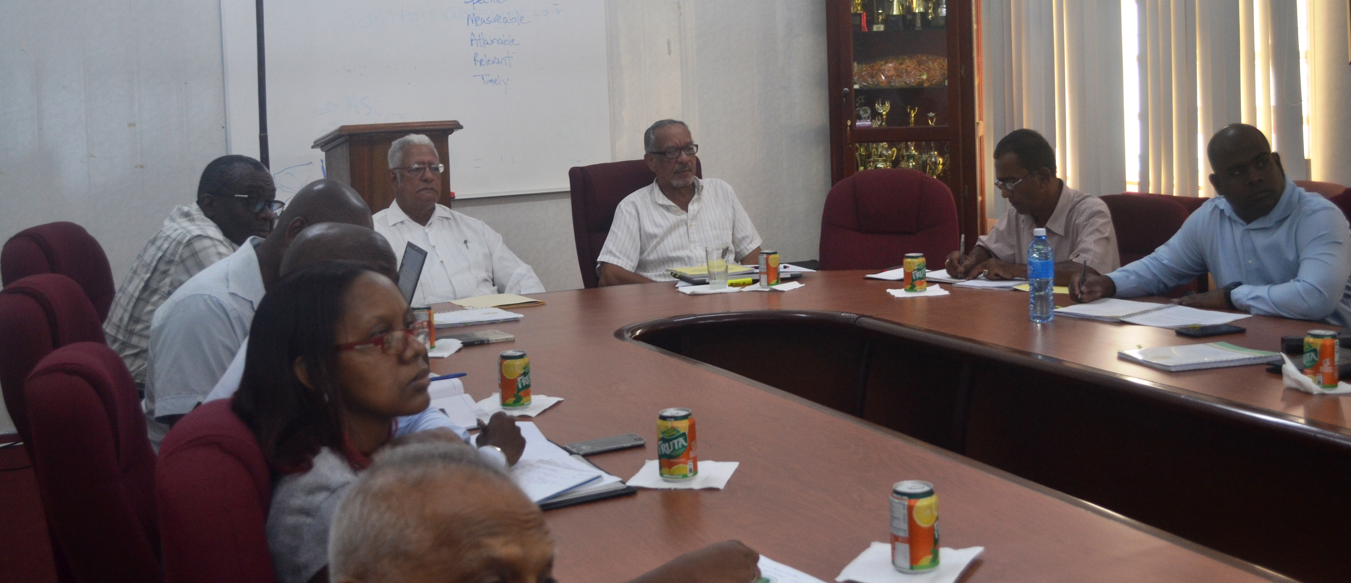 A section of the meeting