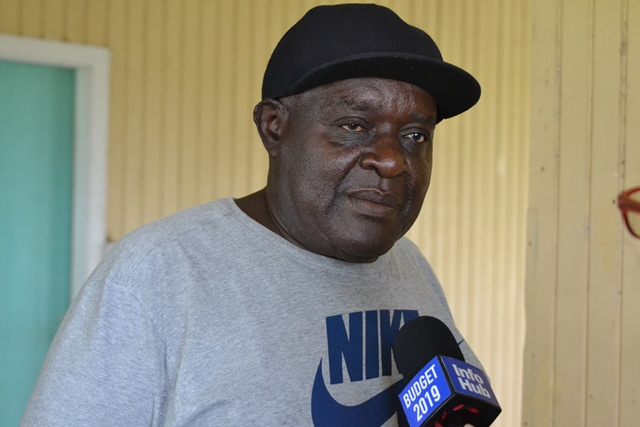 Clifton Nedd, a retrenched worker