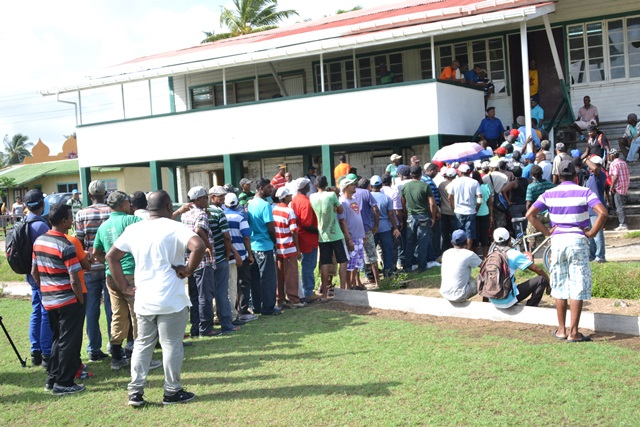 Retrenched Enmore Estate workers anxiously awaiting their severance payments