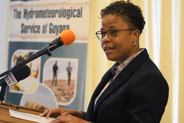 Social scientist of CIHM, Dr. Roche′ Mahon