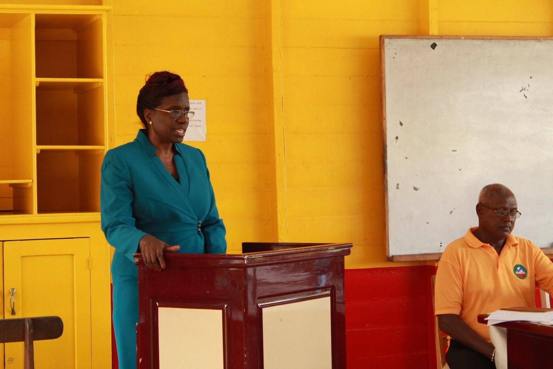 Permanent Secretary, Delma Nedd