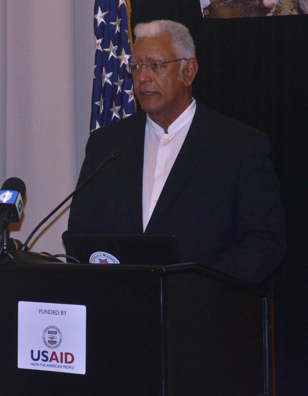 Minister Noel  Holder