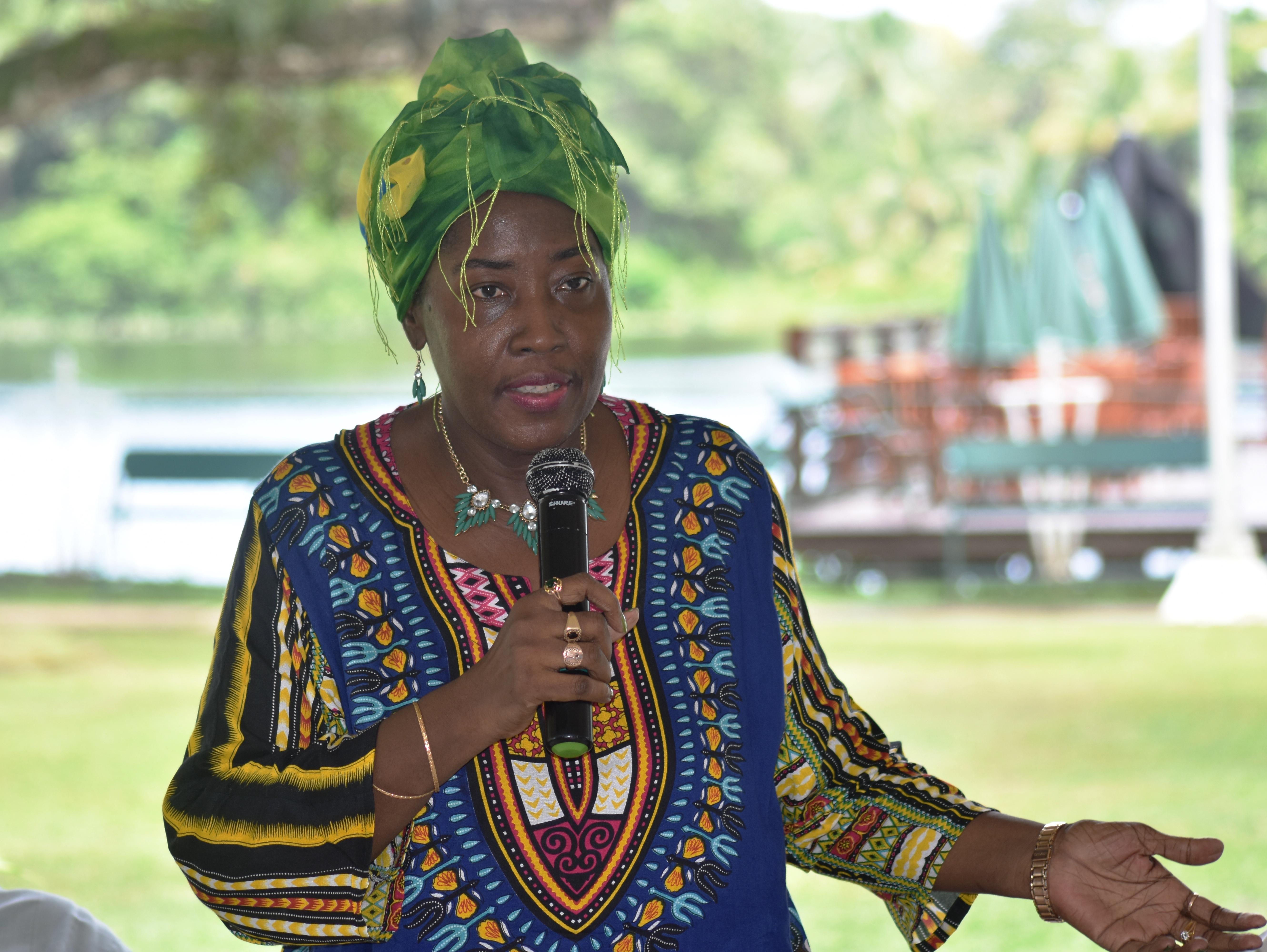 Minister Valerie Adams-Yearwood