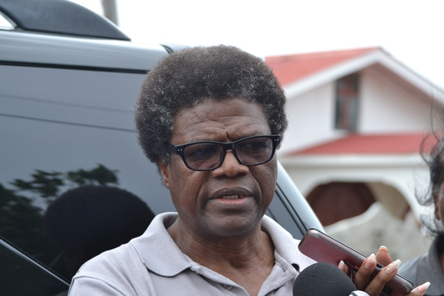 Chief Executive Officer (CEO) of the National Drainage and Irrigation Authority (NDIA), Fredrick Flatts
